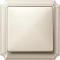 рамка кремовый глянцевый (пластик) клавиша кремовый глянцевый (пластик)